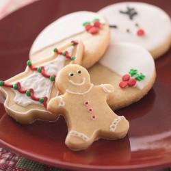 Biscoitos Amanteigados de Natal