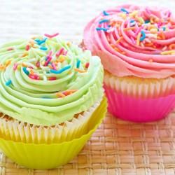 Cup Cake de Baunilha Como Fazer Cupcake de Baunilha