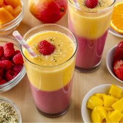 Vitamina de frutas com linhaça Como Fazer