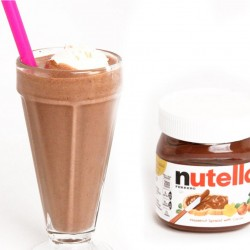 Milk Shake de Nutella