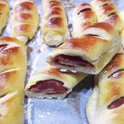 PÃO COM CHOURIÇO | Receita Portuguesa de Pão com Chouriço fácil, tradicional e caseiro