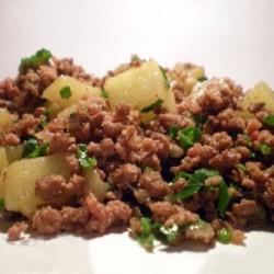 Carne Moída com Batata Receita Rápida e Prática