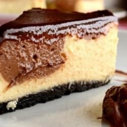 Cheesecake de Nutella Como Fazer Receitas de Nutella