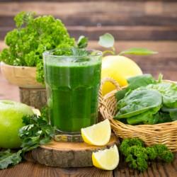 Suco Verde com Couve & Suco de Couve com Laranja - Baixa Caloria